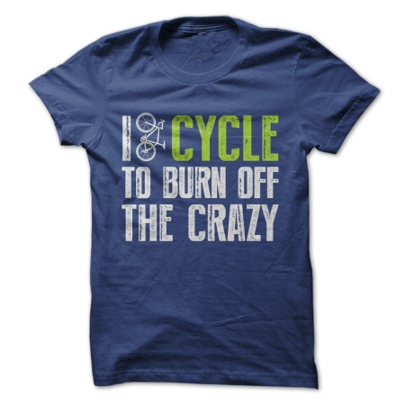 cycling burn off the crazy