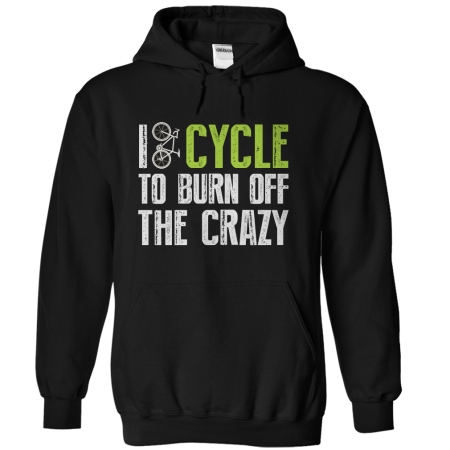 cycle to burn off hoodie